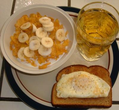 day 29 breakfast