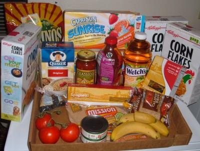 second week food supply