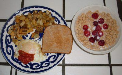 breakfast day 41