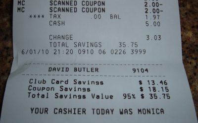 day 32 purchase receipt 1
