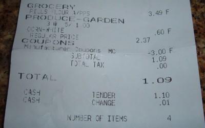 day 32 purchase receipt 3
