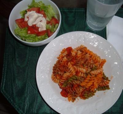 day 34 dinner