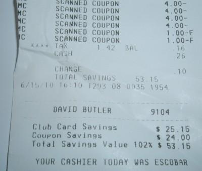 day 46 receipt 2