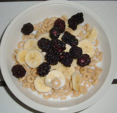 blackberry cheerios