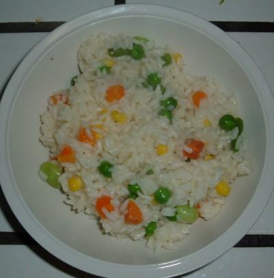 Veggie rice dinner