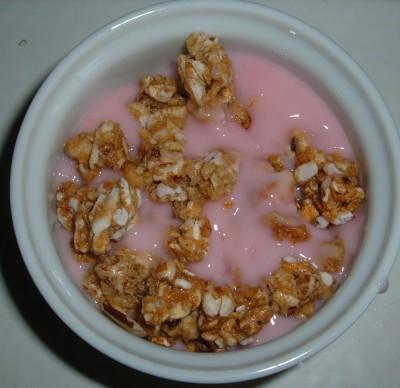 yogurt and Kashi