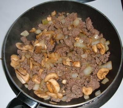 beef onion mushroom