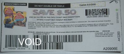 betty croker war delights coupon