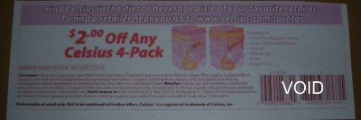 celsius coupon