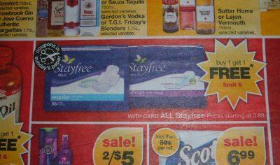 cvs stayfree ad