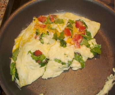 omelet flip