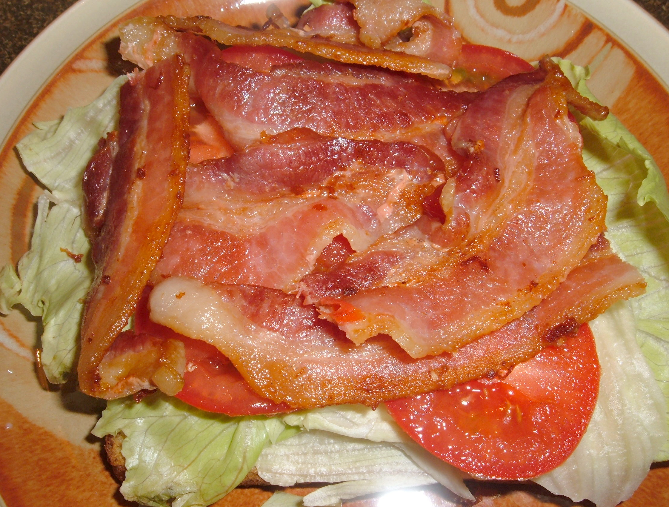 not be able to make much, but I can make a bacon, lettuce and tomato ...