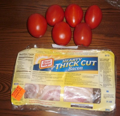 bacon tomatoes