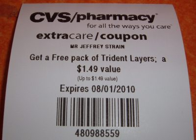 free Trident Layers coupon