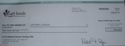 Kraft rebate check