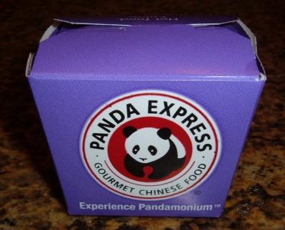 panda express box