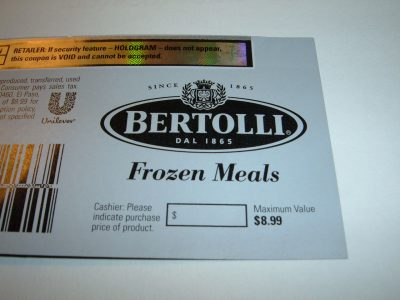 Bertolli Coupons