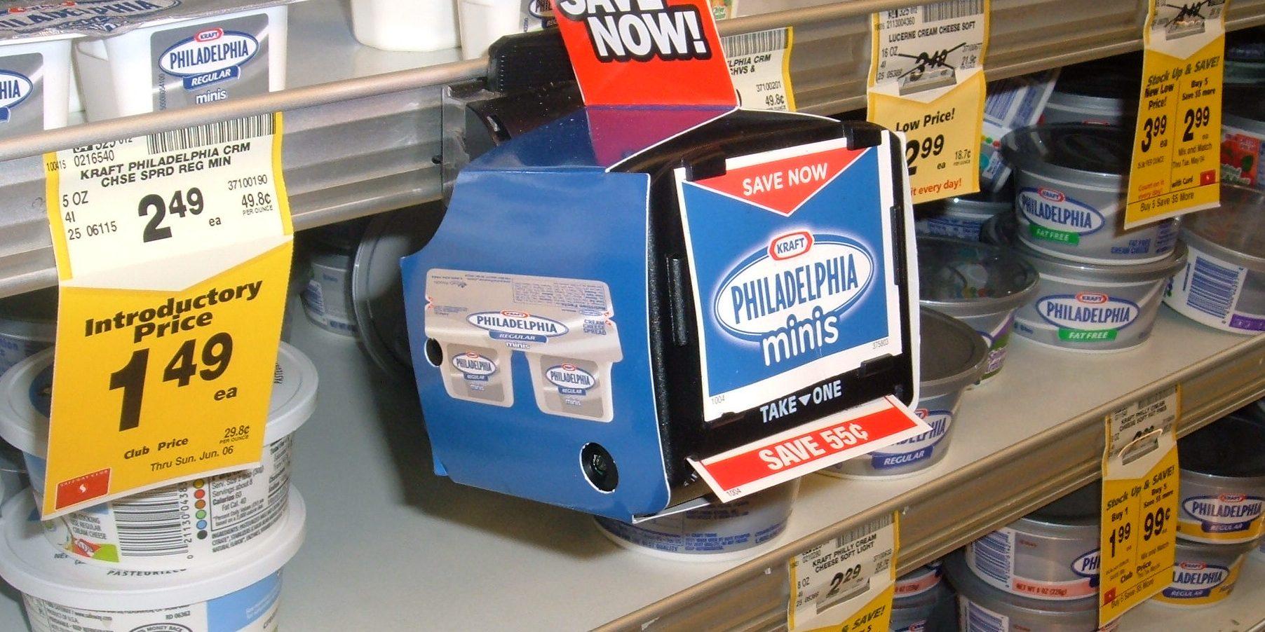 coupon blinkie machine