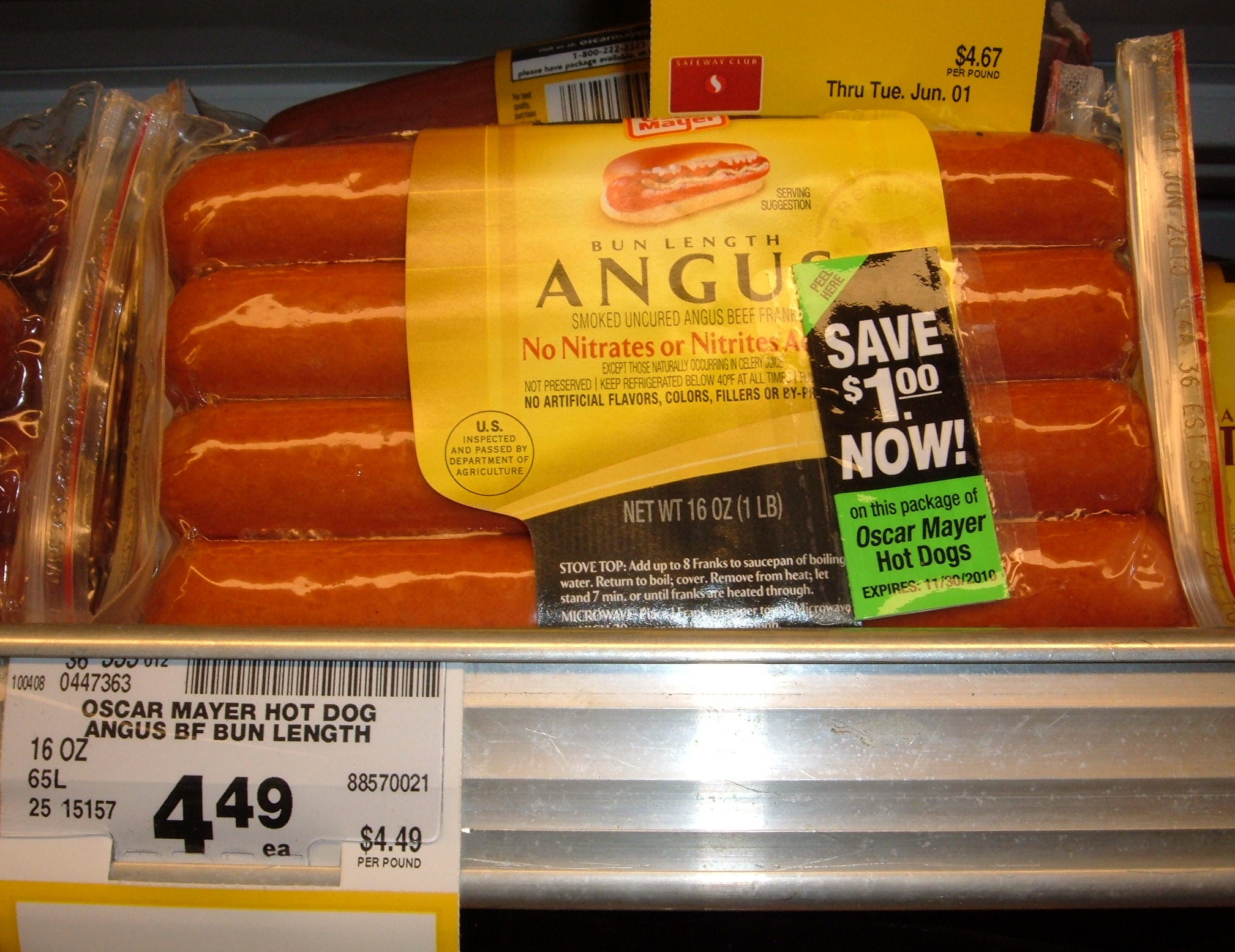 Cheesy Bacon Wrapped Hot Dogs besides Oscar Mayer Selects Angus Beef Franks Bun Length 14 oz furthermore Andy Warhol Celebrity Pop Art as well Oscar Mayer Turkey Hot Dogs in addition Deli. on oscar mayer bun length
