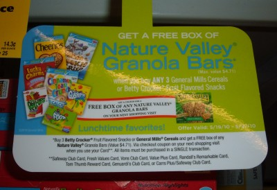 General Mills catalina coupon