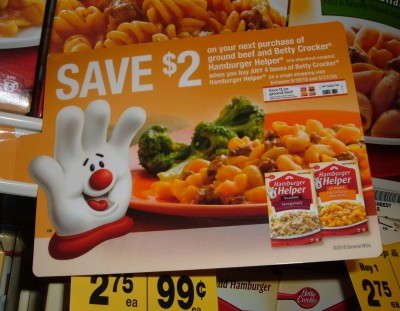 Hamburger Helper catalina coupon