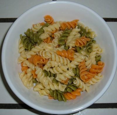 day 15 dinner pasta