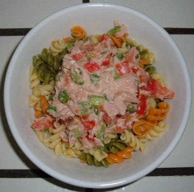 day 15 dinner tuna salad