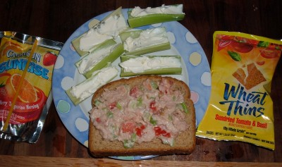 day 20 lunch