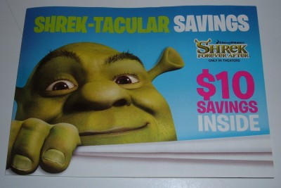 shrektacular savings