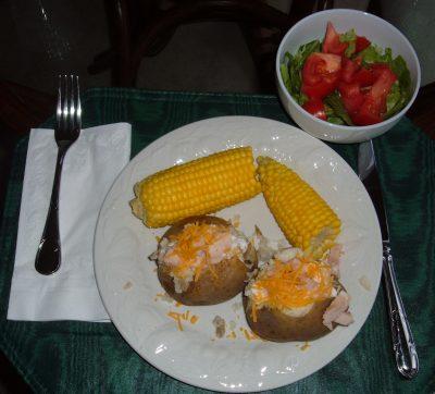 day 33 dinner