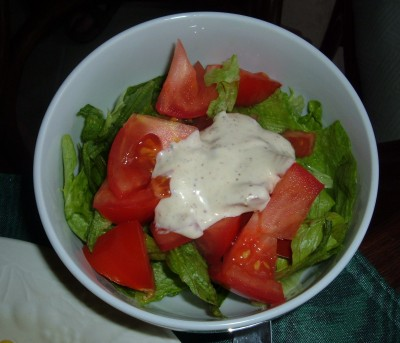 day 33 dinner salad
