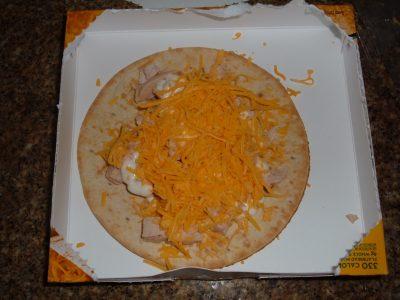 day 33 lunch prepared