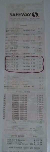 day 35 receipt