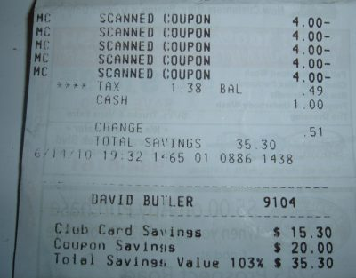 day 45 receipt 1
