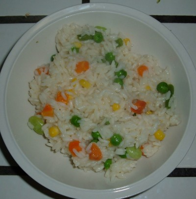 Veggie rice dinner