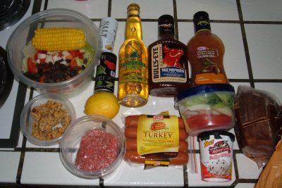 BBQ ingredients