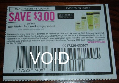 John Frieda coupon