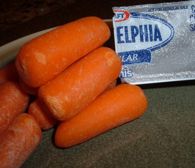 carrots and cream cheese