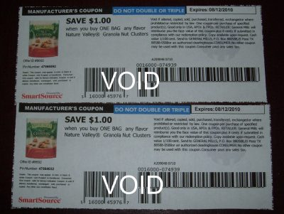 nature valley clusters coupon