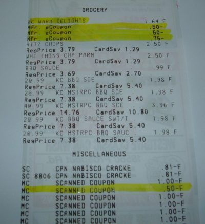 warm delights ecoupon receipt