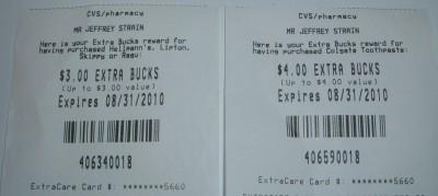 cvs extra bucks