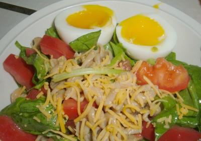 pasta salad egg
