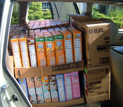 food bank delivery side