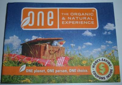 organic coupon booklet
