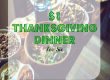 thanksgiving dinner ideas, cheap thanksgiving dinner, affordable thanksgiving dinner ideas