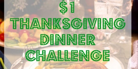 thanksgiving dinner challenge, cheap thanksigiving, affordable thanksgiving