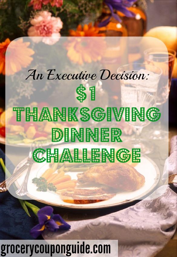 thanksgiving dinner challenge, cheap thanksigiving, affordable thanksgiving