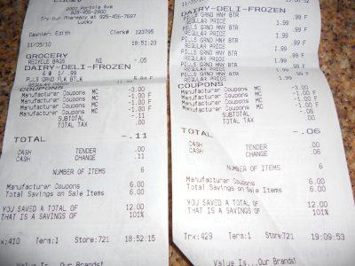 Biscuit receipts