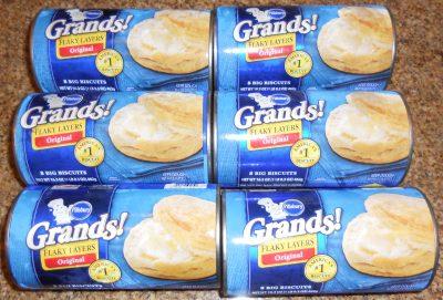 Free Pillsbury Grand biscuits