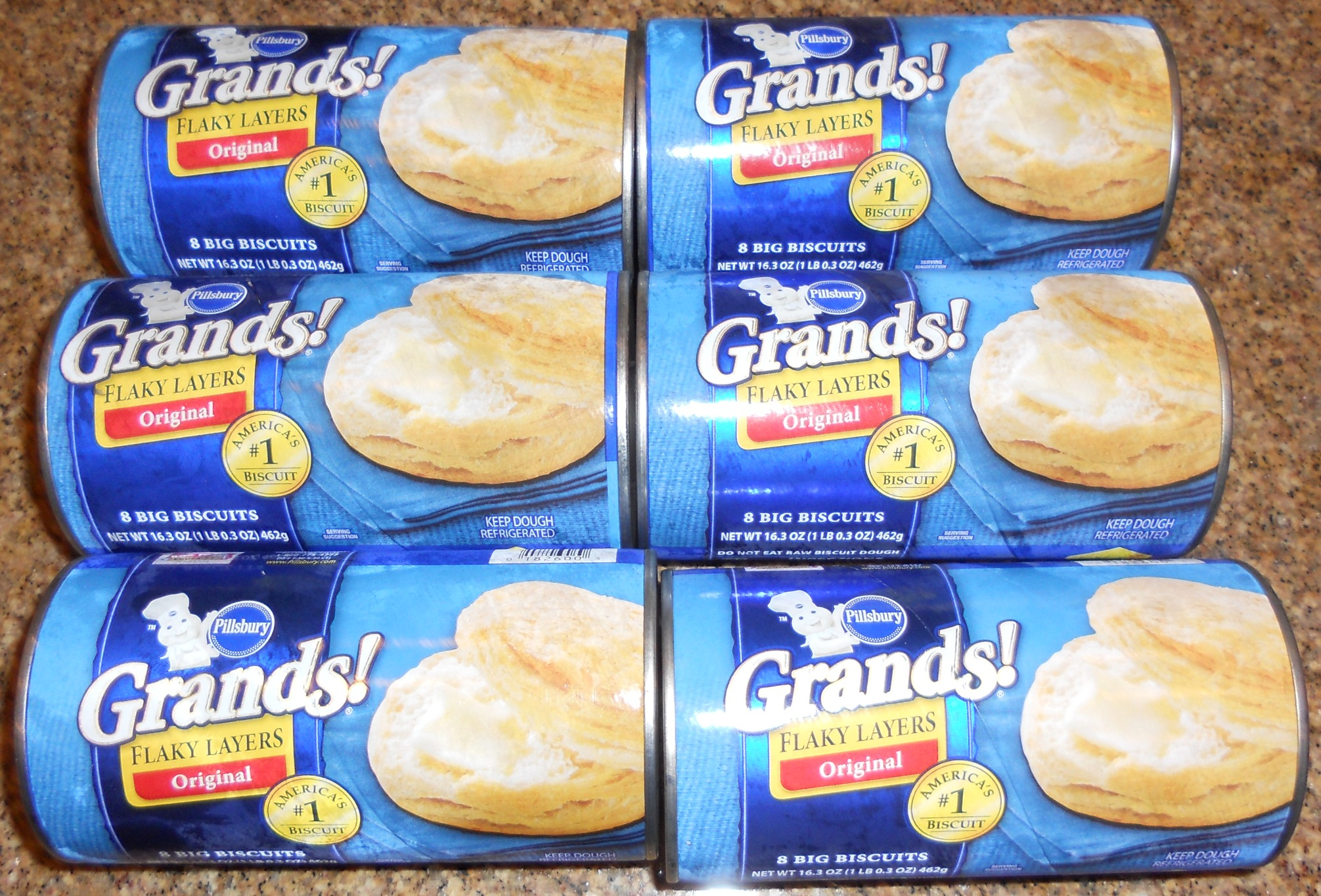 Free Pillsbury Grand biscuits